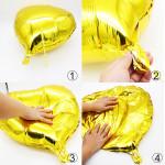 Как правильно завязывать фольгированные шарики