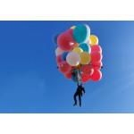 Сколько нужно воздушных шаров, чтобы поднять человека в воздух?