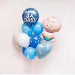 Воздушные шарики для встречи из роддома