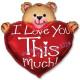 Влюблённый медвежонок