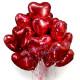 Набор фольгированных сердец (15 шт)